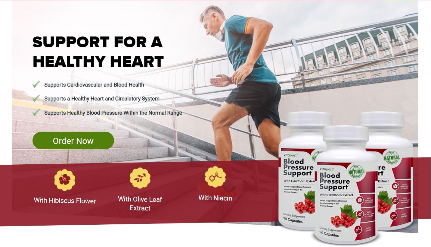 Blood Pressure Support
